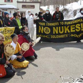 Photos from March 8 Fukushima + 4 Peace Walk