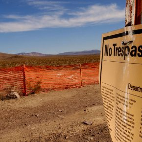 """Trump Advisers Eye Reviving Nevada Yucca Nuclear Waste Dump"""