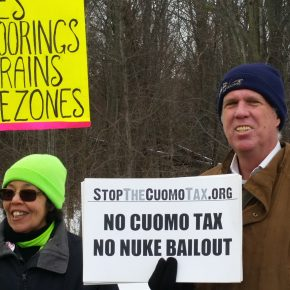 Photos from Stop The Cuomo Tax SUNY Purchase Action