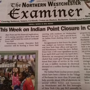 """Two Forums This Week on Indian Point Closure in Cortlandt"" by Rick Pezzullo"