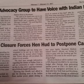 """""""Parents Advocacy Group to Have Voice with Indian Pt Closure"""""""