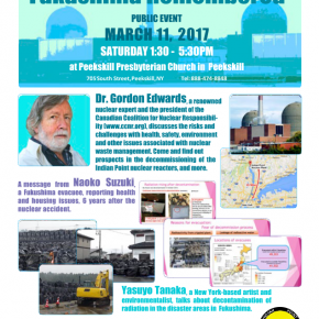 March 11: Fukushima Remembered in Peekskill
