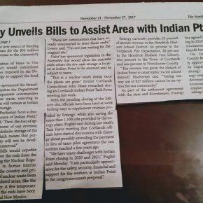 Nita Lowey Is Introducing 3 Bills Related to IP Closure