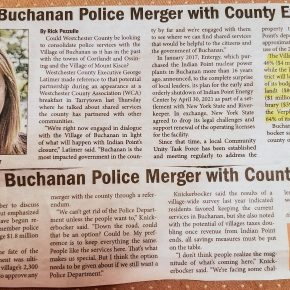 Talk of Possible Buchanan Police Merger with County Surfaces