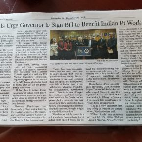 Officials Urge Goverener to Sign Bill to Benefit Indian Pt Workers