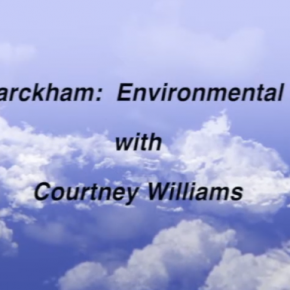 Environmental Forum with Pete Harckham. Moderated by Courtney Williams.