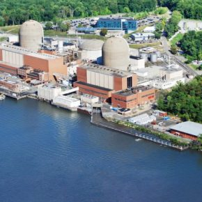 Treatment of used fuel at Indian Point